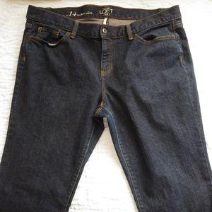 Ann Taylor Loft Jeans Modern Slim